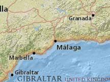 Malaga Climate Chart