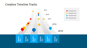 Sample Budget Timeline Creative Timeline Tracks PowerPoint Template SlideModel 23