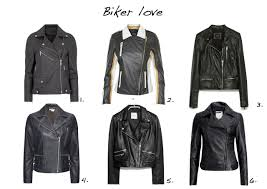 biker jackets karl lagerfeld renate black leather biker jacket gestuz leather biker jacket in colourblock stripe
