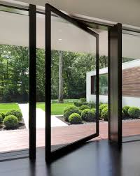 Entryway Ideas Pivot Doors Modern Design - Exterior pivot door