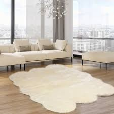 fake fur rugs faux sheepskin area rug cream real furry carpet large animal zebra flooring runner artificial bear skin white floor navy flokati sheep