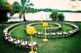 spiral wedding ceremony aisle