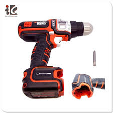 black and decker tools. black \u0026 decker bdcdd120 20v max lithium-ion 3/8 in. cordless drill / driver and tools