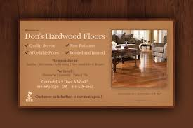flooring business cards designs