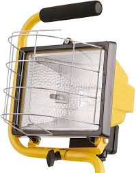 500w Halogen Work Light Bulbs Globe Electric Yellow 500w Portable Halogen Work Light With