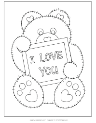 I Love You Coloring Pages For Adults Pictures Mom Staranovaljainfo