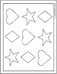 Small Picture Shape Coloring Pages Customize And Print