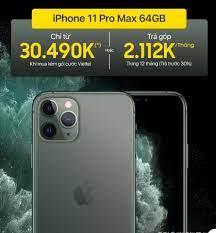 💥💥 iPhone 11 Pro Max #chính_hãng - Siêu... - Viettel Store  (viettelstore.vn)