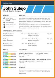 One Page Resume Template Free 1 Page Resume Templates 1 Page Resume
