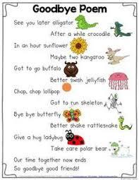 Bildergebnis Für Kindergarten Abschied Gedicht Sprüche Kinder
