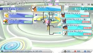 Digimon Cyber Sleuth Digivolution Chart Amazon Com Digimon Story Cyber Sul Over Scan Video Games
