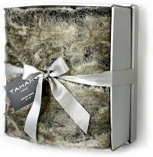 gray faux fur throw. Fine Throw Amazoncom Mink Faux Fur Throw By Tahari Home Luxury Plush Silver Tipped Gray  Blanket Grey Home U0026 Kitchen Throughout M