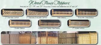Decorative Fence Toppers Wooden Fence Solid Board Fence Wood Fence Styles Riverhead Ny