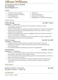 Functional Resume Example 2016 Template For A Functional Resume