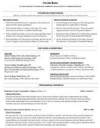 Sample Resume For College Sample Resume College Professor Position How