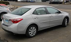 File:2014 Toyota Corolla 1.8 LE (ZRE172), rear right.jpg ...