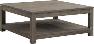 Superb Square Wood Coffee Table Rustic Reclaimed Glass Top Simply And Nature With  Using 1823