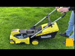 <b>KARCHER</b> Battery <b>lawn</b> mower(LMO 36-46) TESTING/Мощная ...