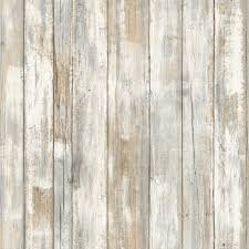 Peel And Stick Wall Decor Distressed Wood Peel And Stick Wallpaper Decor Eonshoppee