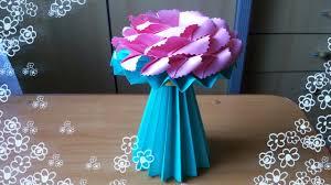 Paper Flower Base Paper Crafts Flower Vase Under Fontanacountryinn Com