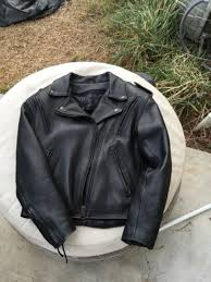 fox creek motorcycle riding leather jacket