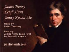 a reading of jenny kissed me leigh hunt jenny kissed me leigh hunt