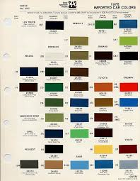 Aston Martin Color Chart Bmc Bl Paint Codes And Colors How To Library The Morris