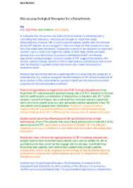 psychology essay outline and evaluate biological therapies for psychological therapies of schizophrenia