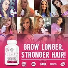 kerotin hair growth formula. Kerotin Hair Growth Vitamins For Natural Longer, Stronger, Healthier - Enriched With Vitamin Formula N