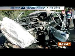 Fatal Road Accidents: 5 People Died in Horrific Car Crash in 2 ...
