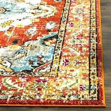 good orange and blue area rug for orange and green area rugs multi color carpet multi