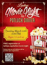 Movie Flyer Ladies Movie Night Tarbiya Institute 12