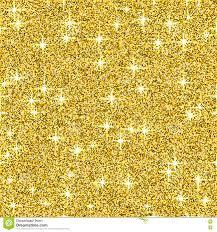 Het Goud Glanst Schittert Vectorachtergrond Geel Fonkelings