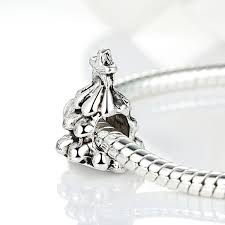 top quality 925 silver trees charm beads fit pandora bracelet