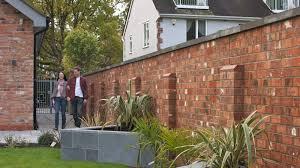 old mill brick garden walling marshalls