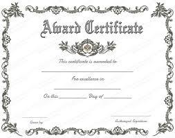 Certificates Amazing Free Printable Certificate Templates
