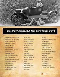 Personal Value Statement Examples Interesting Times May Change But Your Core Values Don't Values To Live By