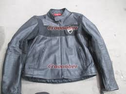 ducati revit campany14 half leather jacket