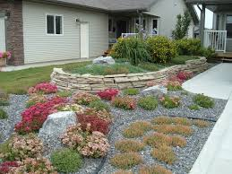 Small Picture Minimal Maintenance Landscaping A no lawn front yard with rock