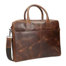 men s leather bag with stitching bata brown 964 4139 13