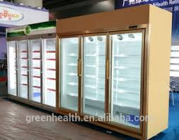 Stand Up Display Fridge Greenhealth Stand Up Fridge For Watersoft Drink DisplayBeverage 1