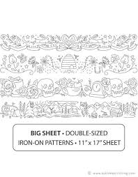 Stitching Patterns Inspiration BORDER DESIGNS Hand Embroidery Patterns From Sublime Stitching