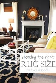 how to choose the right rug size for your living room what size rug for small
