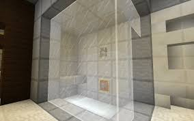 how to make a kitchen in minecraft. Frosted Glass Shower How To Make A Kitchen In Minecraft I