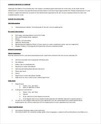Resume Format Doc Krismoranus Beauteous ResumeDoc