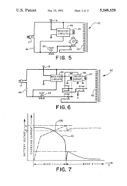 patent us5148158 emergency lighting unit having remote test patent drawing