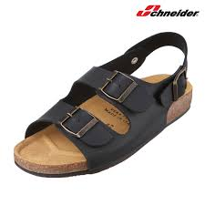 details about schneider boris mens black made in italy sandal shoes casual summer beach
