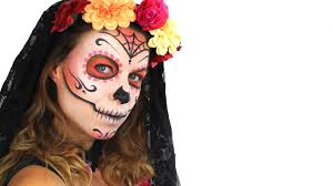 day of the dead makeup tutorial for easy sugar skull free cake videos