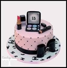 chanel makeup cake facebook i love cuteology cakes