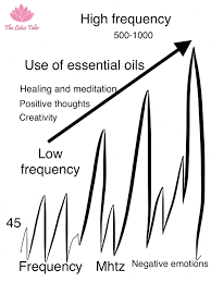 Young Living Oil Frequency Chart Energy Frequency And Essential Oils The Lotus Tales